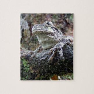 Hoppy Tree Frog Jigsaw Puzzle