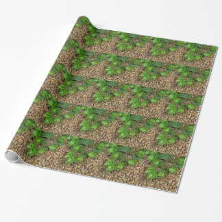 Hops and Malt Wrapping Paper