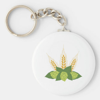 Hops & Barley Key Ring