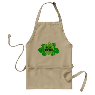 Hops Beer Brewer Stencil Aprons