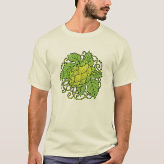 Hops design (craft beer lover's tee) T-Shirt