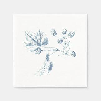 Hops On A Vine Oktoberfest Party Paper Napkins Disposable Napkin