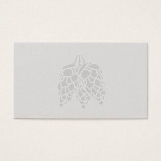 Hops Print -Blank Business Card