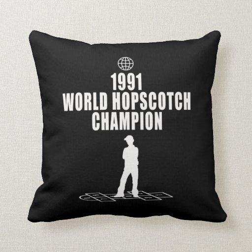 Hopscotch Champion Pillows
