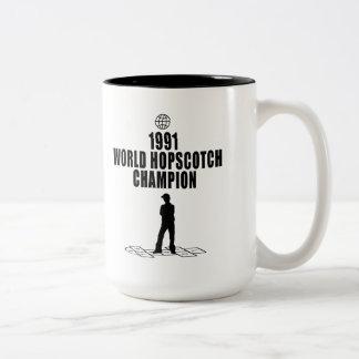 Hopscotch Champion Coffee Mugs
