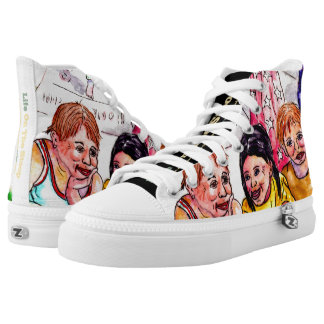 Hopscotch High Top Sneakers