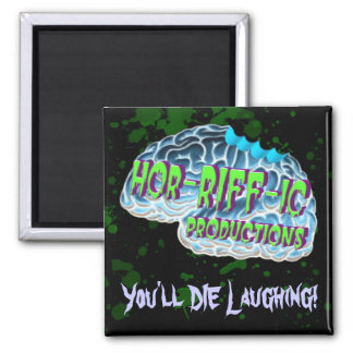 Hor-RIFF-ic Productions Square Magnet