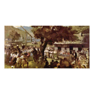 Hora By Grigorescu Nicolae (Best Quality) Personalized Photo Card
