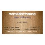 Horace Business Card Template