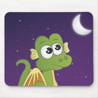 Horatio the Dream Dragon Moon Mousepad