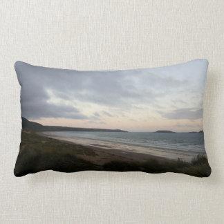 Horizon of Gower Beach Cushion
