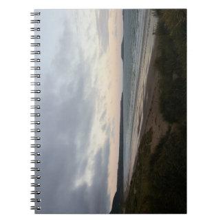 Horizon of Gower Beach Notebook