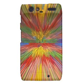HORIZON Rainbow Colorful Stripe Romantic Gifts fun Droid RAZR Cases