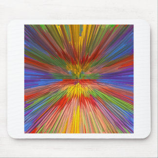 HORIZON Rainbow Colorful Stripe Romantic Gifts fun Mouse Pad