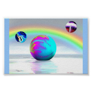 Horizon Rainbow Posters