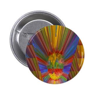 Horizon Sunset Golden Sparkles DIY Gifts COLORFUL 6 Cm Round Badge