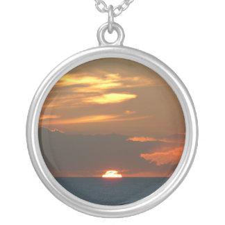 Horizon Sunset Necklace