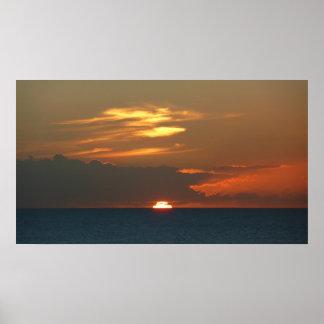 Horizon Sunset Print