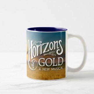 Horizons of Gold Sunrise Two-Tone Mug