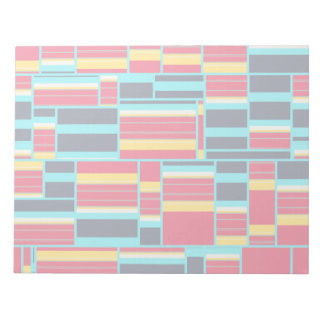 Horizontal and vertical stripes notepads