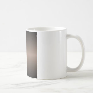 Horizontal Beaver and Black Gradient Coffee Mug