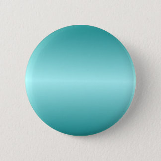 Horizontal Celeste and Teal Gradient 6 Cm Round Badge