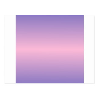 Horizontal Cotton Candy and Ube Gradient Postcard