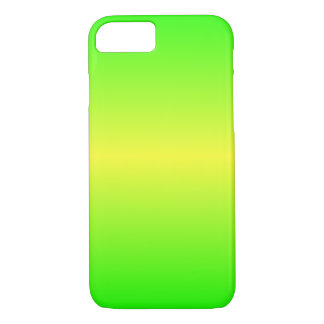 Horizontal Electric Yellow and Electric Green iPhone 7 Case