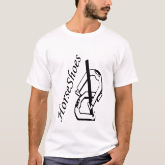 Horizontal Horseshoes Muscle T-Shirt