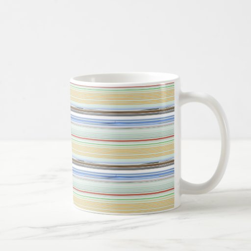 Horizontal lists mug