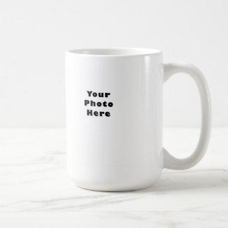 Horizontal Basic White Mug