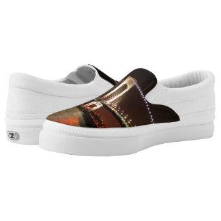 Horizontal Narrows Z slipons Slip-On Shoes