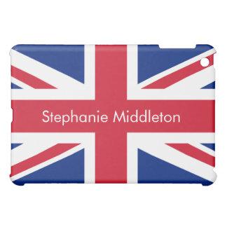Horizontal Personalised UK Flag iPad Mini Case