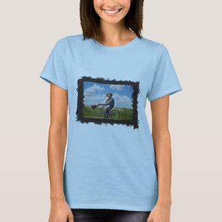 Horizontal Photo Grunge Frame Create Your Own T-Shirt