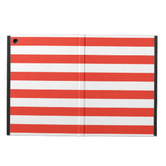 Horizontal Red Stripes Case For iPad Air