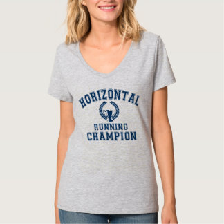 horizontal running champion T-Shirt