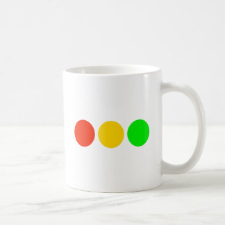 Horizontal Stoplight Colors Coffee Mug