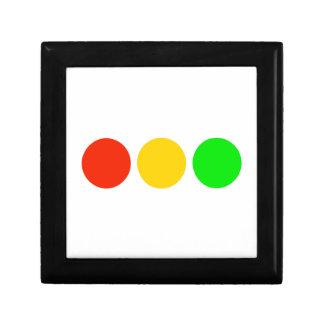 Horizontal Stoplight Colors Gift Box