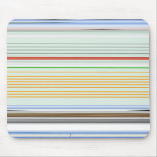 Horizontal stripes mouse pad