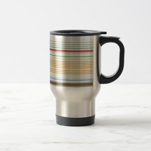 Horizontal stripes mugs