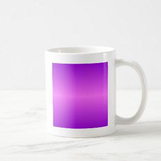 Horizontal Ultra Pink and Dark Violet Gradient Coffee Mug
