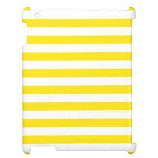 Horizontal Yellow Stripes Case For The iPad