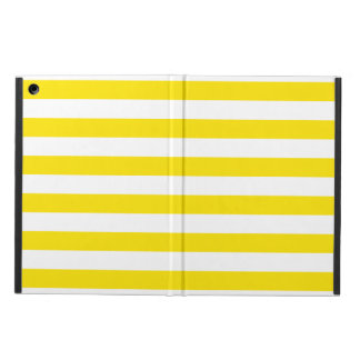 Horizontal Yellow Stripes Cover For iPad Air