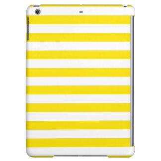 Horizontal Yellow Stripes iPad Air Case