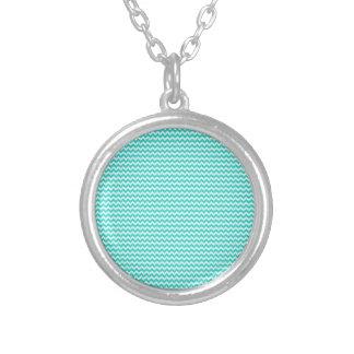 Horizontal Zigzag - Celeste and Turquoise Custom Jewelry