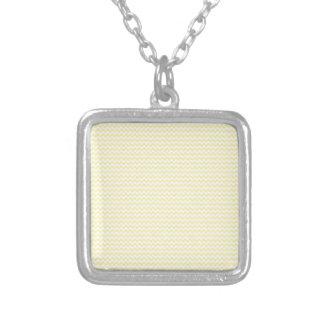 Horizontal Zigzag - Light Yellow and Corn Custom Jewelry