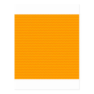 Horizontal Zigzag - Orange and Amber Postcard