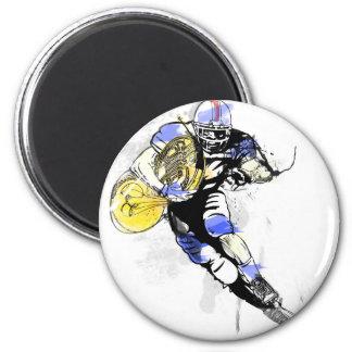 horn football magnet