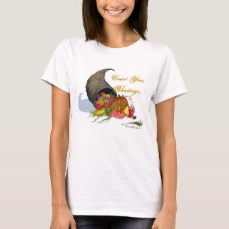 Horn of Plenty, Count Your Blessings... T-Shirt