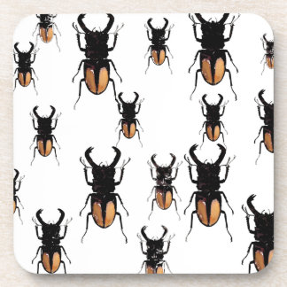 HORNED BEETLES COLLECTION COASTER